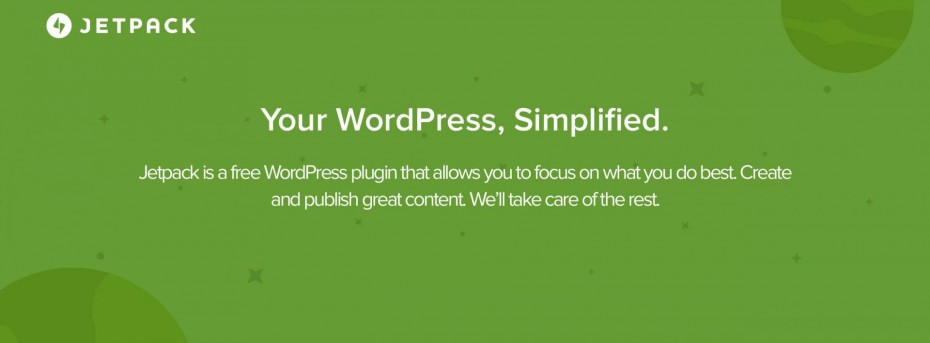 Jetpack — your WordPress simplified