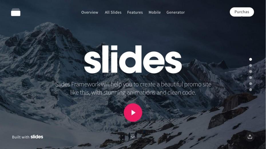 Slides Framework — презентация