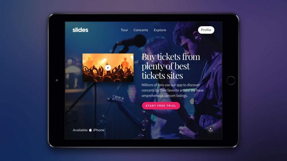 Slides Framework — все страницы адаптивны для любых устройств