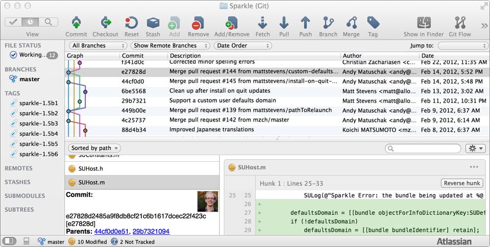 SourceTree OS X
