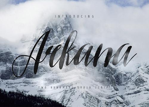 Бесплатный шрифт Arkana
