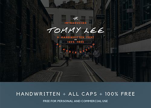 Бесплатный шрифт Tommy Lee