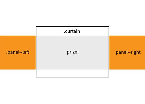 Эффект «шторки» на чистом CSS