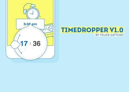 Timedropper — jQuery таймпиккер плагин