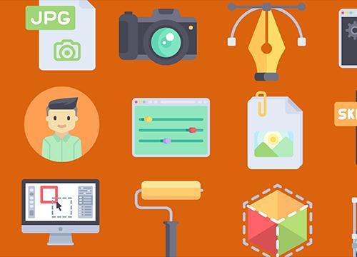 100 бесплатных иконок про веб-дизайн