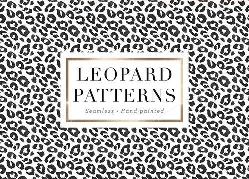 Полупрозрачный леопардовый паттерн