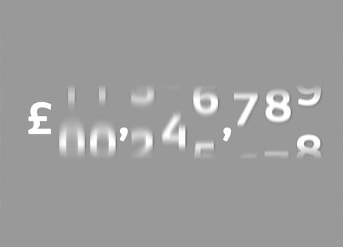 Эффект анимации одометра на SVG
