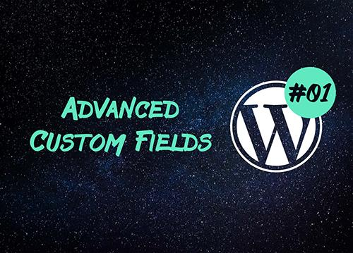 Advanced Custom Fields — начало работы с WordPress плагином