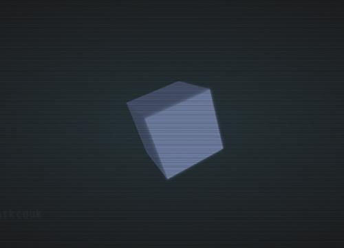 Анимированный куб на чистом CSS