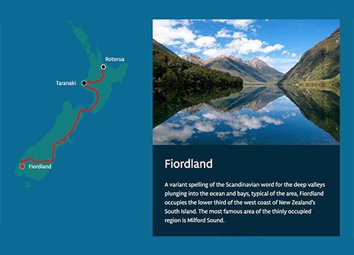 Интерактивная карта с SVG и Web Animation API