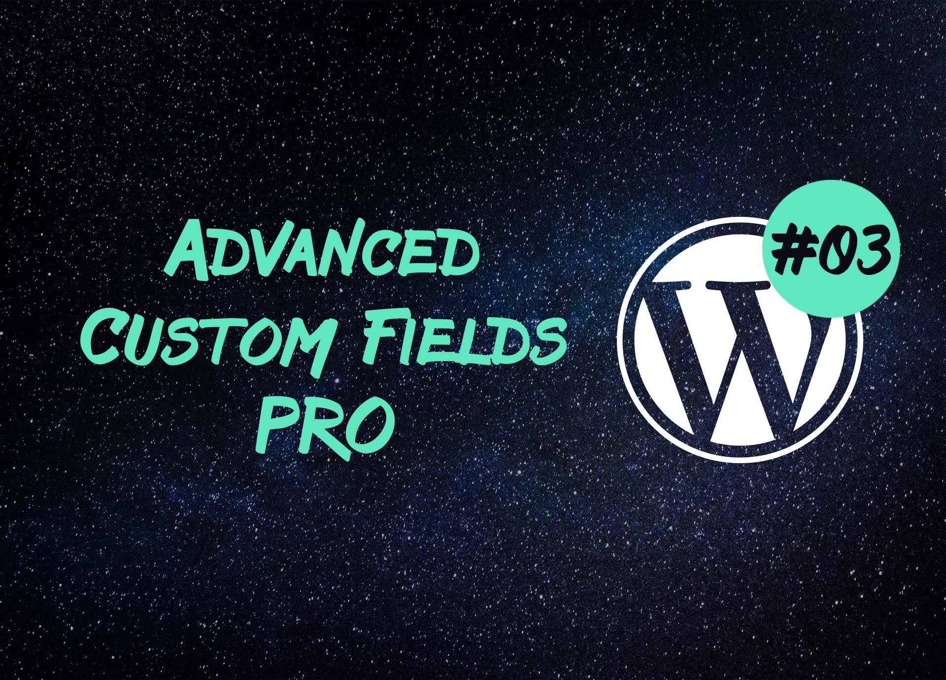 Advanced Custom Fields Pro —  повторитель и отношения