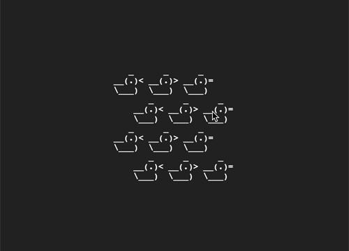 AsciiMorph — анимируем ascii изображения