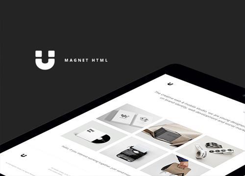 Magnet HTML — очередной бесплатный шаблон