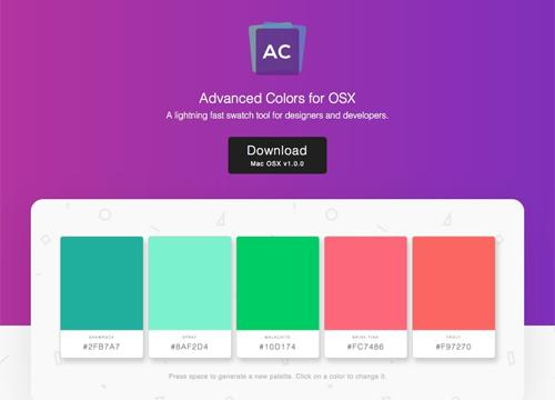 Advanced Colors — продвинутый color picker для MacOS