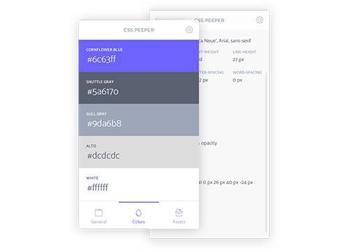 CSSPeeper — умный просмотр CSS в вашем браузере