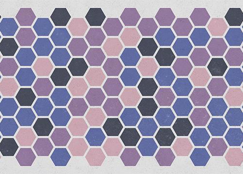 Паттерн с шестиугольниками в Adobe Illustrator