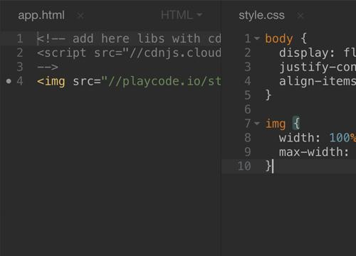 PLAYCODE — онлайн JavaScript редактор