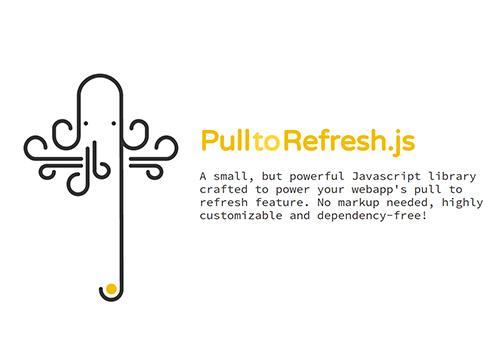 Pull to Refresh.js — популярный UX в веб-приложениях