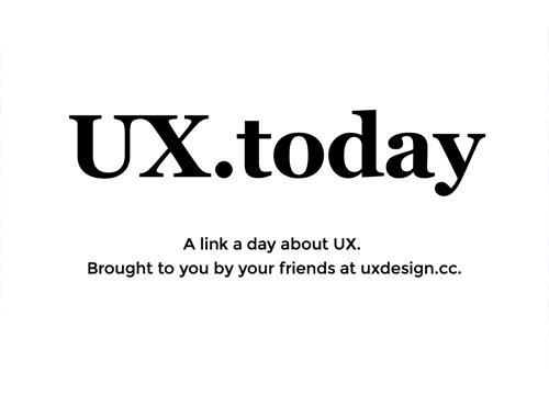 UX Today — пользовательский опыт каждый день