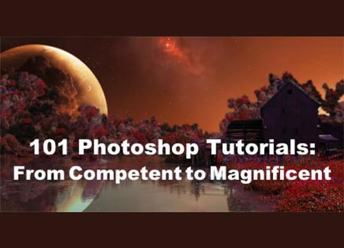 101 туториал для Adobe Photoshop