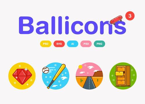 Ballicons 3 — бесплатная версия