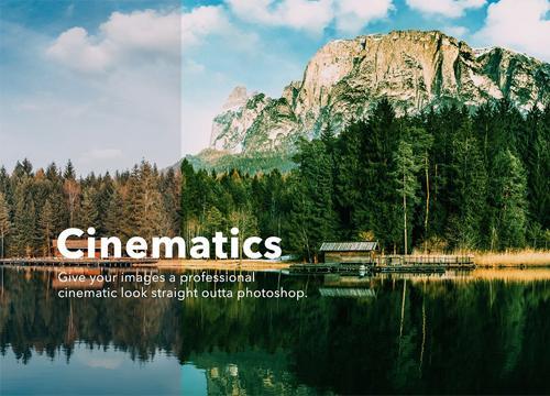 Cinematics — набор экшенов для Adobe Photoshop