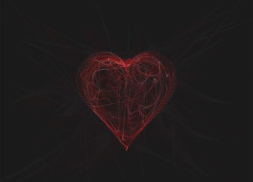 Реконструкция анимации с «потоками» в сердце