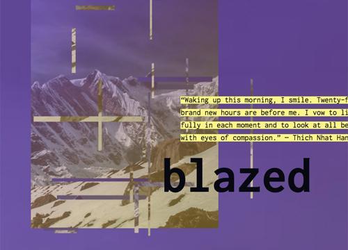 Эффект постера с использованием маленьких фрагментов