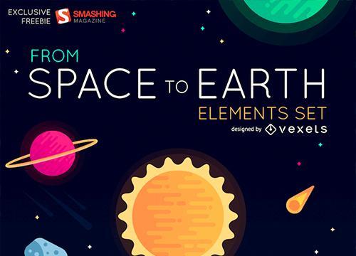 Космические элементы от звезд до Земли