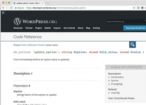 WordPress — используем хук по обновлении опции