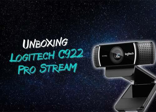 Обзор + распаковка Logitech C922 Pro Stream