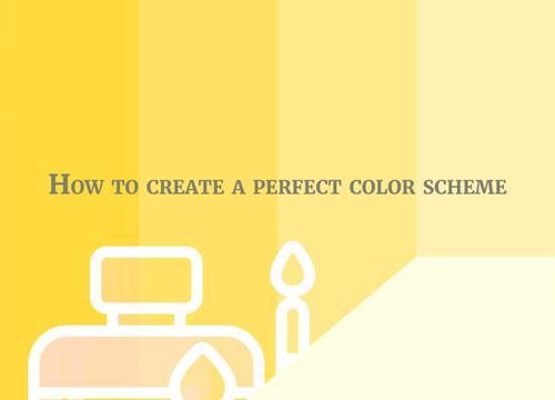 Как правильно создать цветовую схему?