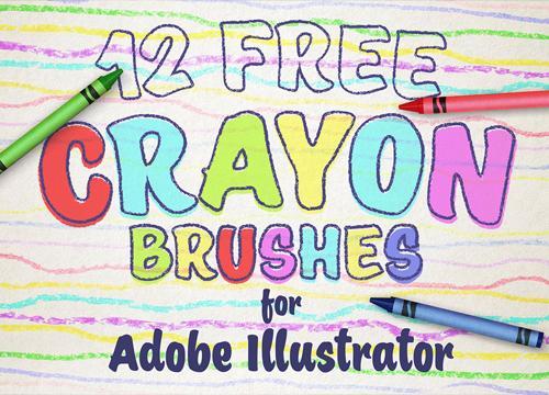 12 бесплатных кистей-фломастеров для Adobe Illustrator