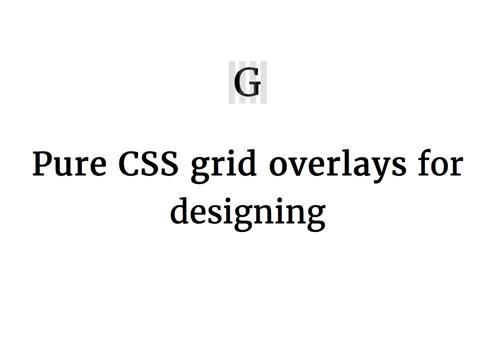 Graaf — сеточные оверлеи на чистом CSS
