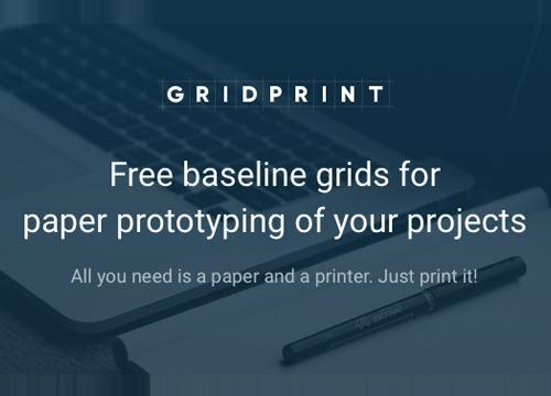 Gridprint — распечатывай любой вид бумаги
