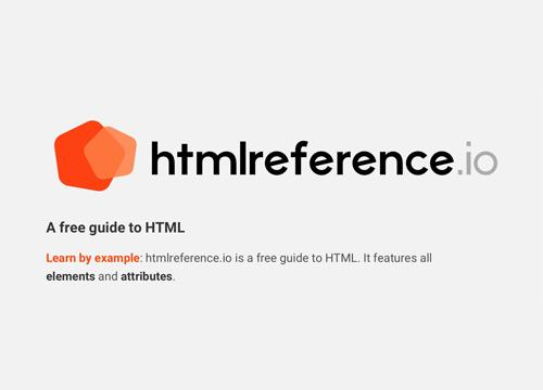 htmlreference.io — коротко и доходчиво про все теги