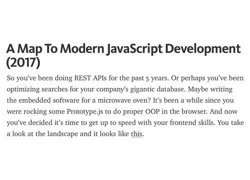 Современная JavaScript разработка, гайд