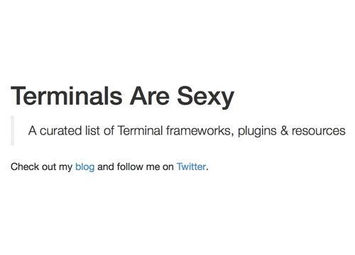 Terminals Are Sexy — репозиторий про консоли