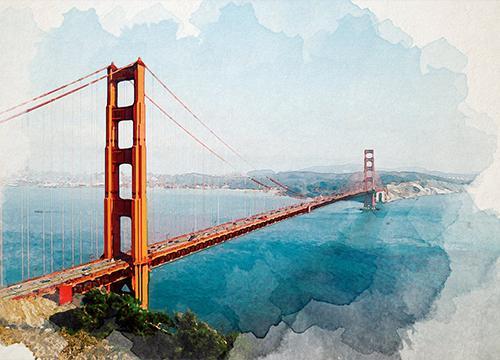 Делаем эффект акварельных красок в Adobe Photoshop