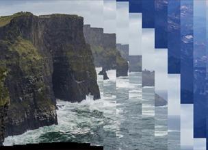 Порезанные слайдшоу с веб-технологиями