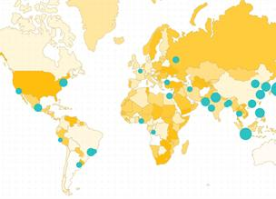 Карты, сделанные на SVG (d3.js) и React