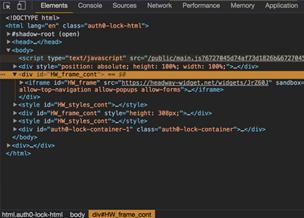 Работа с инструментами разработчика в Google Chrome