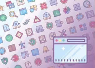 80 бесплатных иконок из набора Dusk UI