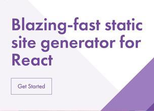 GatsbyJS — генератор статических сайтов для React