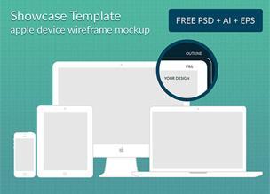 Мокапы для адаптивного веб-дизайна