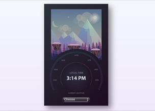 «Мировые часы» на Vue.js