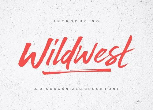 Wildwest — шрифт для логотипов